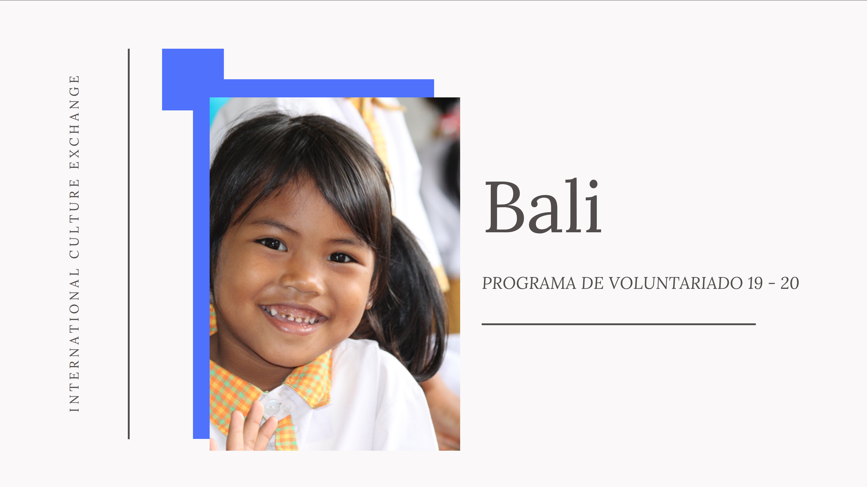 Voluntariado en Asia - Bali